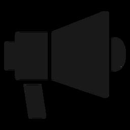 Directors megaphone black
