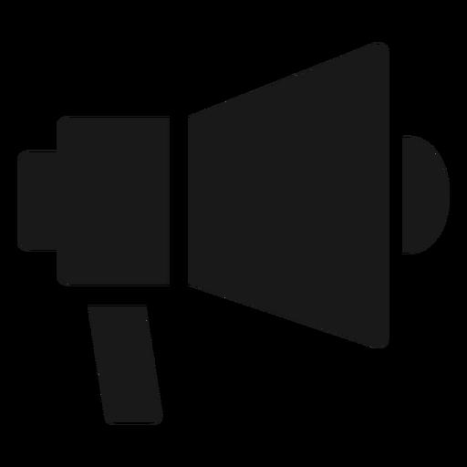 Megafone diretor preto