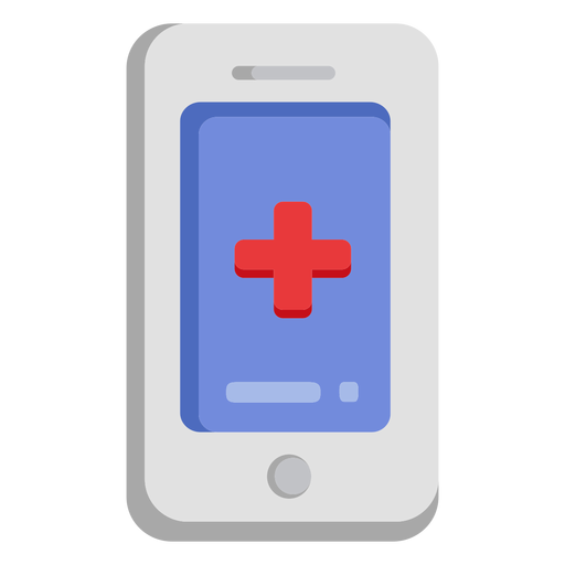 Emergency cellphone icon Transparent PNG
