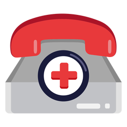 Emergency telephone icon