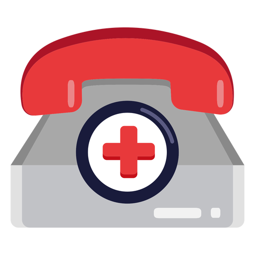 Emergency telephone icon Transparent PNG
