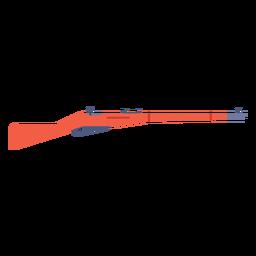 Enfield rifle plana