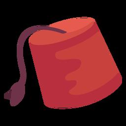 Ilustración del sombrero de Fez