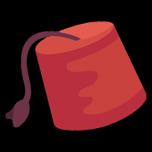 Ilustración de sombrero de Fez