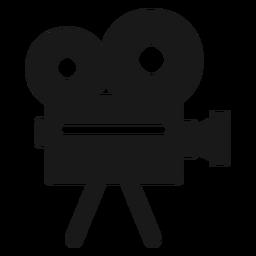 Cámara de cine negro