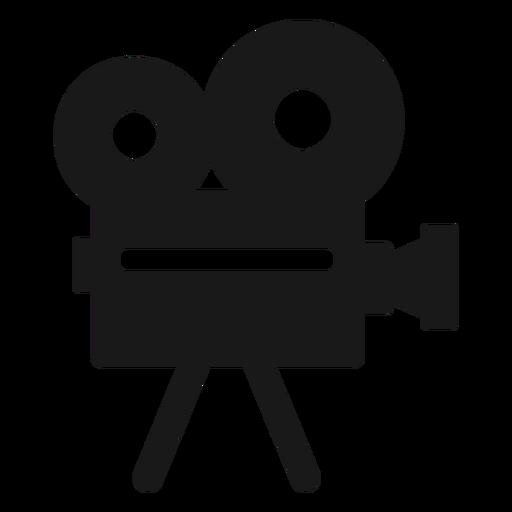 Cámara de película negra Transparent PNG