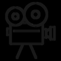Movimiento de cámara de cine