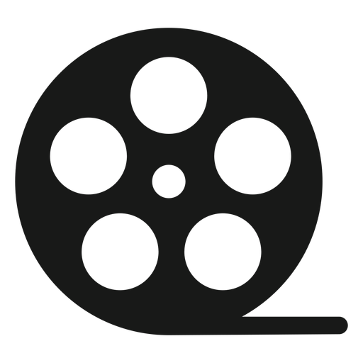 Rolo de filme preto