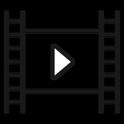 Filmstrip play stroke