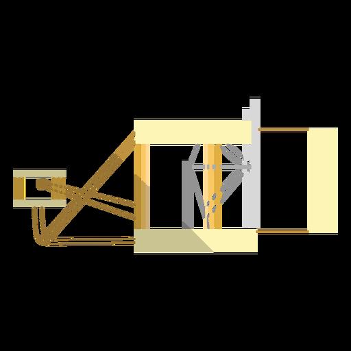 Primera ilustración de avión
