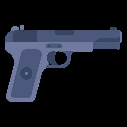 Pistola cinco siete plana Transparent PNG