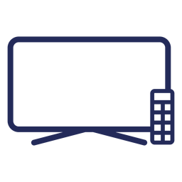 Television Flat Icon Transparent Png Svg Vector File