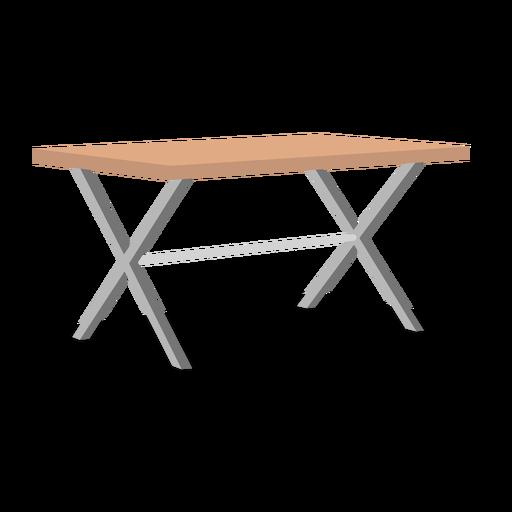 Folding table illustration