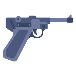 German pistol flat