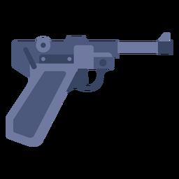 Pistola alemana plana