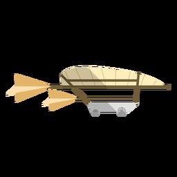 Governable parachute illustration