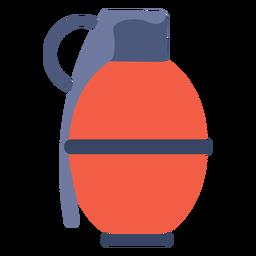 Grenade weapon flat