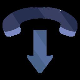 Colgar icono plano