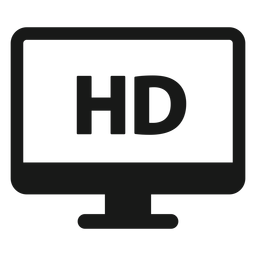 Hd monitor black