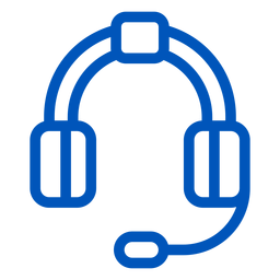 Headphones stroke icon