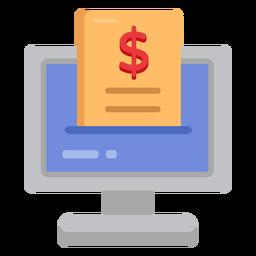 Ícone do computador do seguro saúde