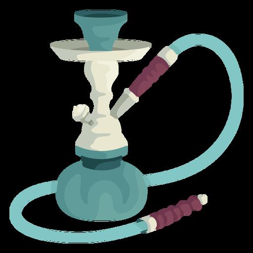 Hookah water pipe illustration