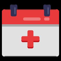 Icono de calendario hospitalario