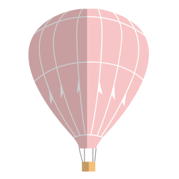 Hot air balloon flat