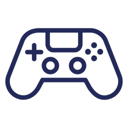 Joystick gamer stroke icon