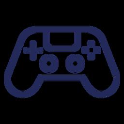 Joystick gamer stroke icon