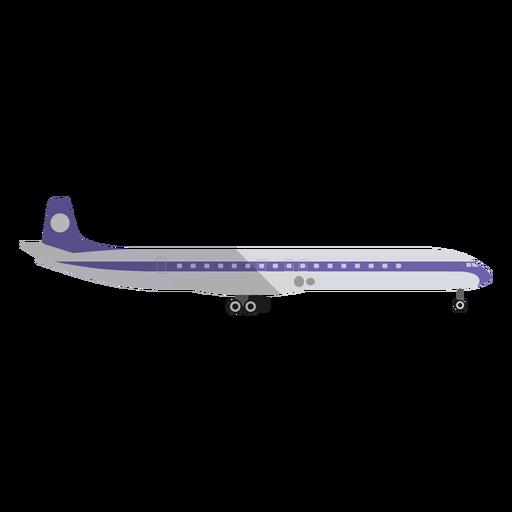 Ilustración de avión comercial ligero