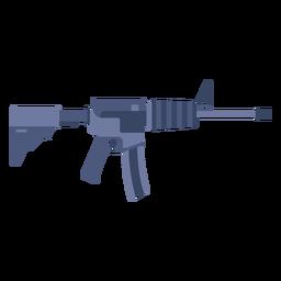 Machine gun flat