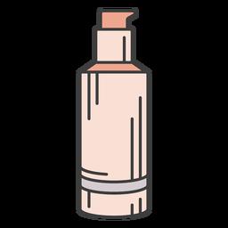 Ilustración de base de maquillaje