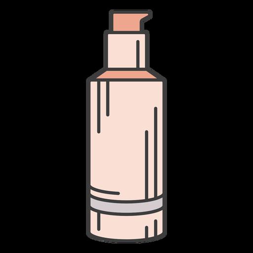 Makeup foundation illustration