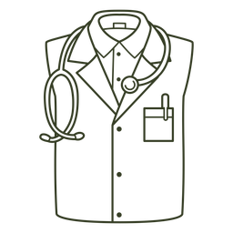 Medical uniform stroke