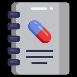 Ícone de caderno médico