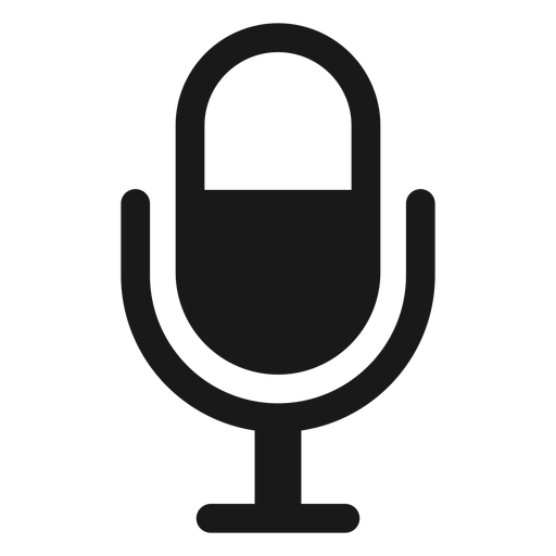 Microphone icon black