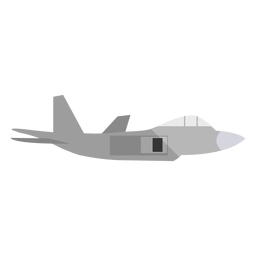 Military plane illustration
