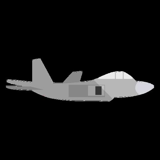 Ilustración de avión militar Transparent PNG
