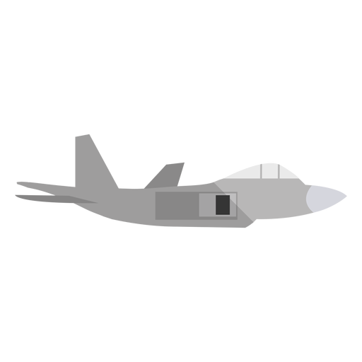Military plane illustration