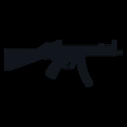 Silueta de ametralladora Mp5