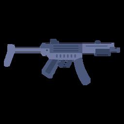Mp5 sub machine gun flat
