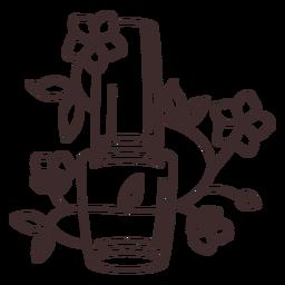 Curso floral de esmalte