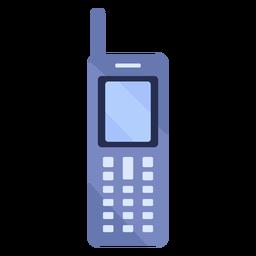 Ilustración de antena de teléfono móvil antiguo