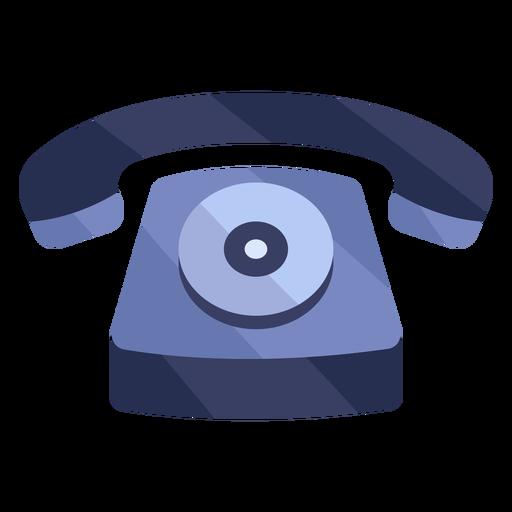 Telefone antigo vermelho