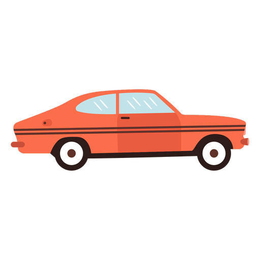 Old car flat Transparent PNG