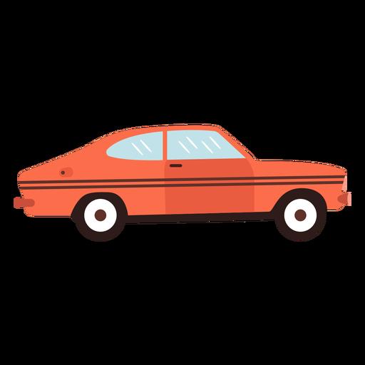 Old sports car flat Transparent PNG