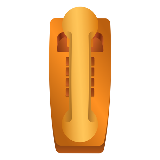 Old telephone tube illustration Transparent PNG