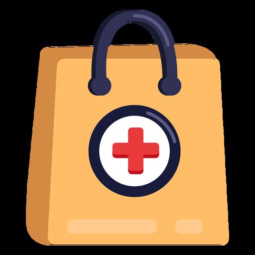 Icono de bolsa de farmacia