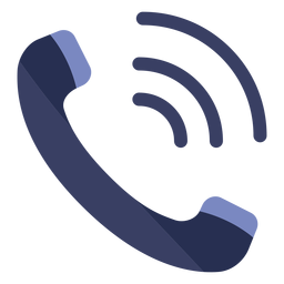 Phone call flat icon